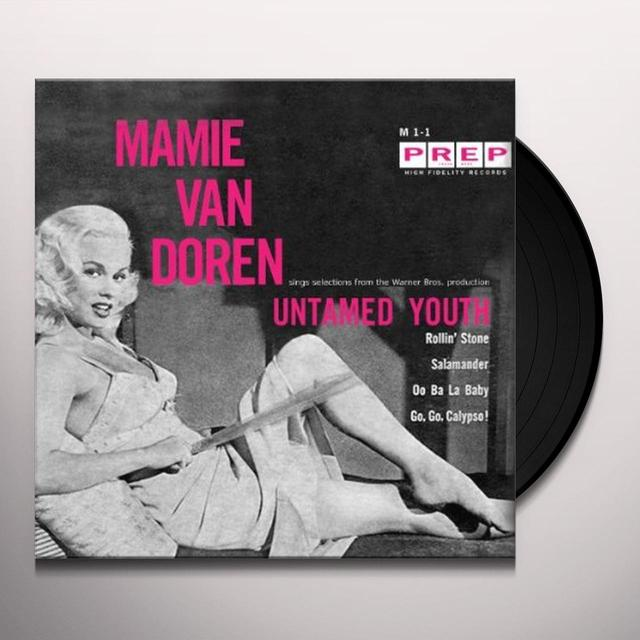 Mamie Van Doren UNTAMED YOUTH Vinyl Record