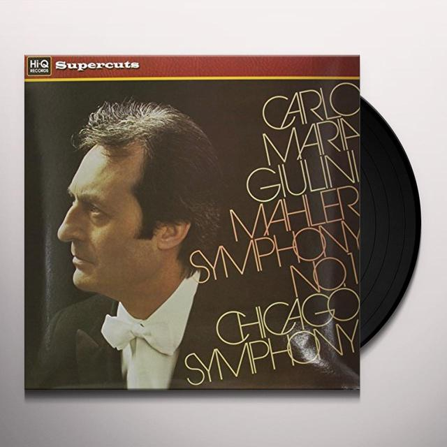 Mah Ler / Giulini / Chicago Sym SYM 1 Vinyl Record - 180 Gram Pressing