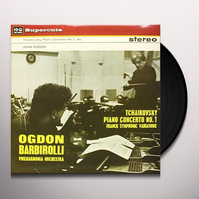 Tchaikovsky / Barbirolli PIANO CON 1 Vinyl Record - 180 Gram Pressing