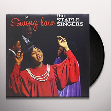 The Staple Singers SWING LOW Vinyl Record