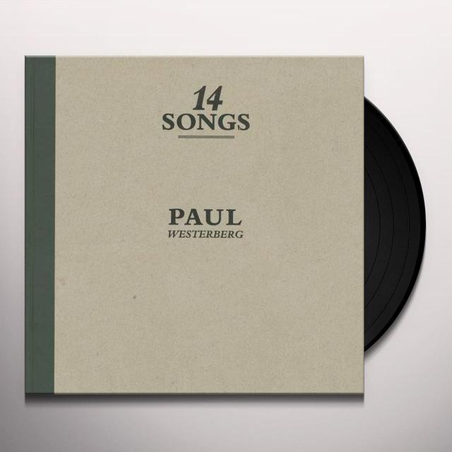 Paul Westerberg 14 SONGS Vinyl Record - 180 Gram Pressing