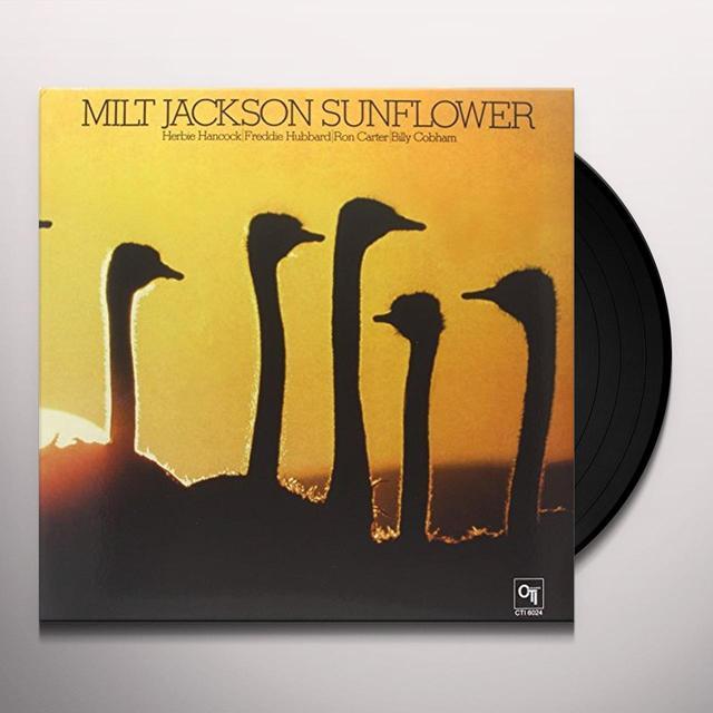Milt Jackson SUNFLOWER Vinyl Record - 180 Gram Pressing