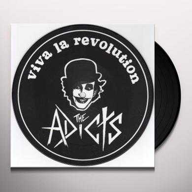 The Adicts VIVA LA REVOLUTION-JOKER IN THE PACK Vinyl Record