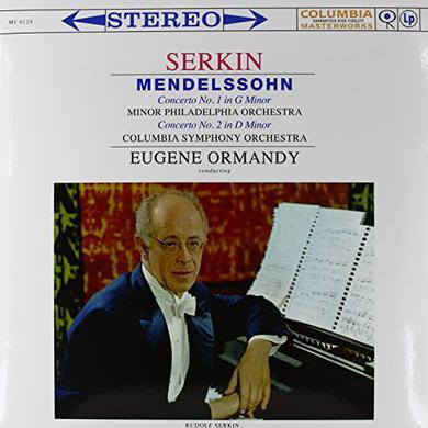 Mendelssohn / Serkin PIANO CONS 1 & 2 Vinyl Record