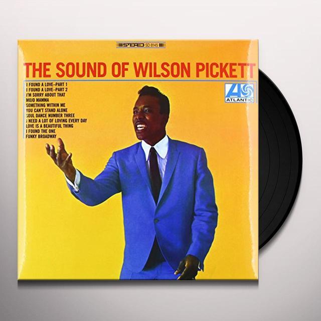 SOUND OF WILSON PICKETT Vinyl Record - 180 Gram Pressing