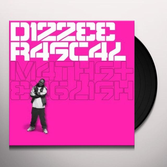Dizzee Rascal MATHS & ENGLISH (UK) (Vinyl)