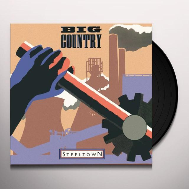 Big Country STEELTOWN (HK) Vinyl Record
