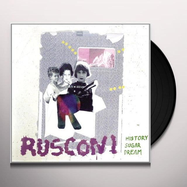 Rusconi HISTORY SUGAR DREAM Vinyl Record - Holland Release