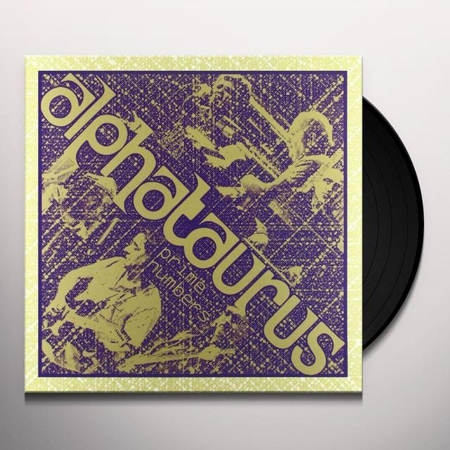 Alphataurus PRIME NUMBERS Vinyl Record - Holland Import