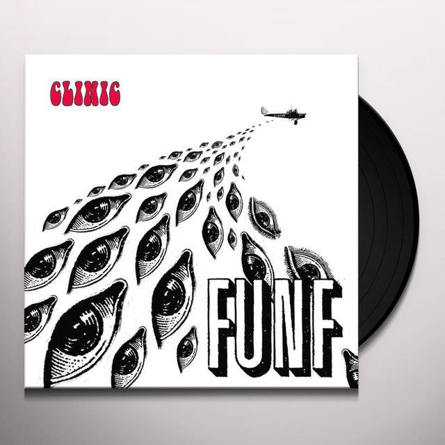 Clinic FUNF Vinyl Record
