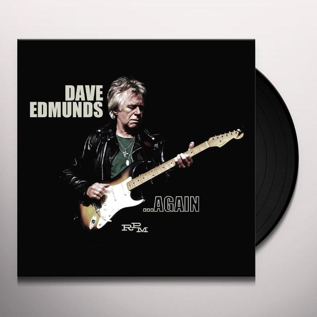 Dave Edmunds AGAIN Vinyl Record - UK Import