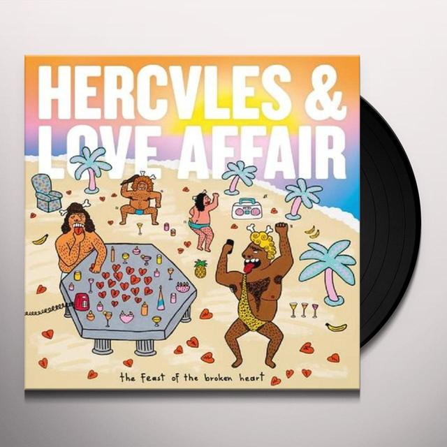 Hercules & Love Affair FEAST OF THE BROKEN HEART Vinyl Record - UK Import
