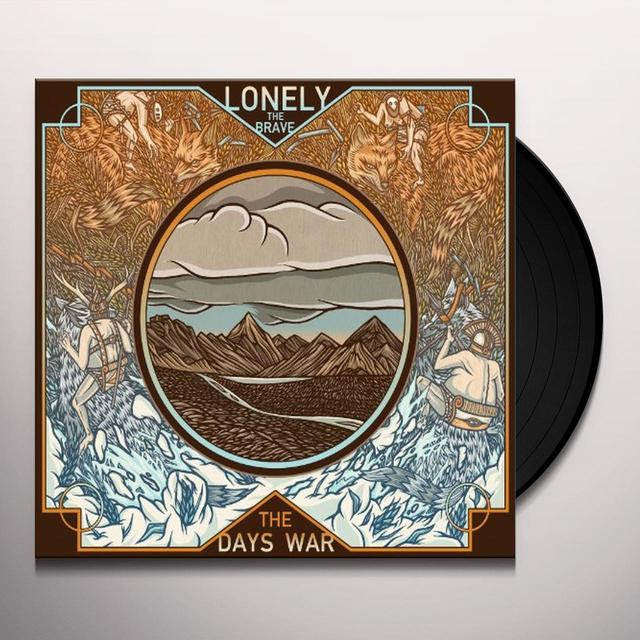 Lonely The Brave DAY'S WAR Vinyl Record - UK Import