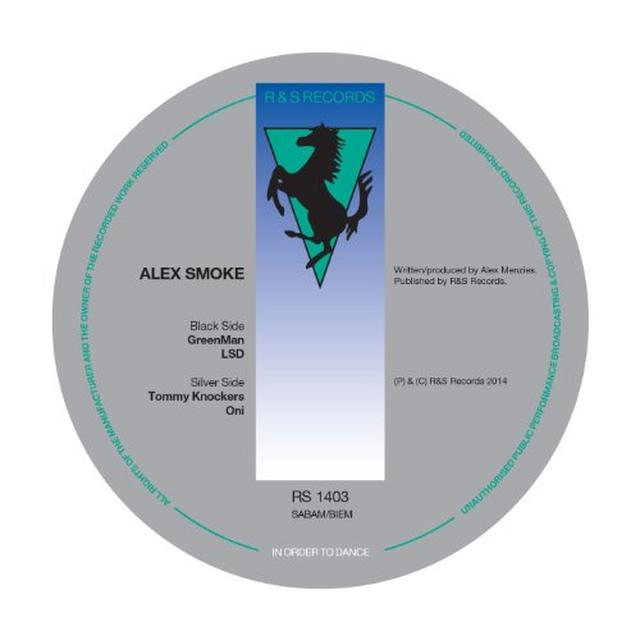 Alex Smoke RS1403 Vinyl Record
