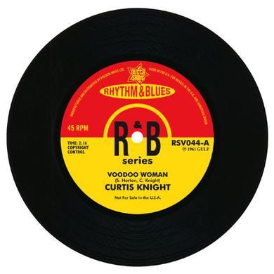 Johnny Darrow & Curtis Knight VOODOO WOMAN/LOVE IS A NIGHTMARE Vinyl Record