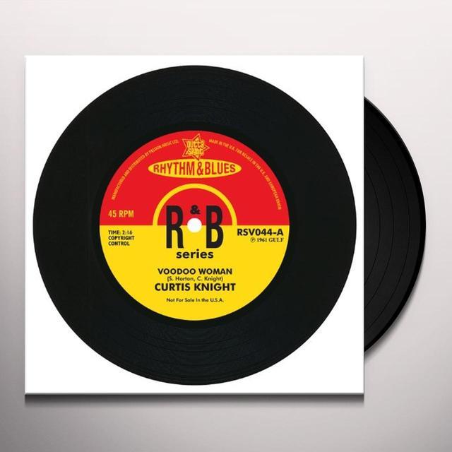 Johnny Darrow & Curtis Knight VOODOO WOMAN/LOVE IS A NIGHTMARE Vinyl Record - UK Import