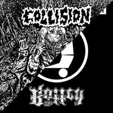Collision/The Rotted SPLIT Vinyl Record