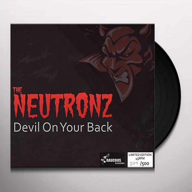 Neutronz DEVIL ON YOUR BACK Vinyl Record - UK Import
