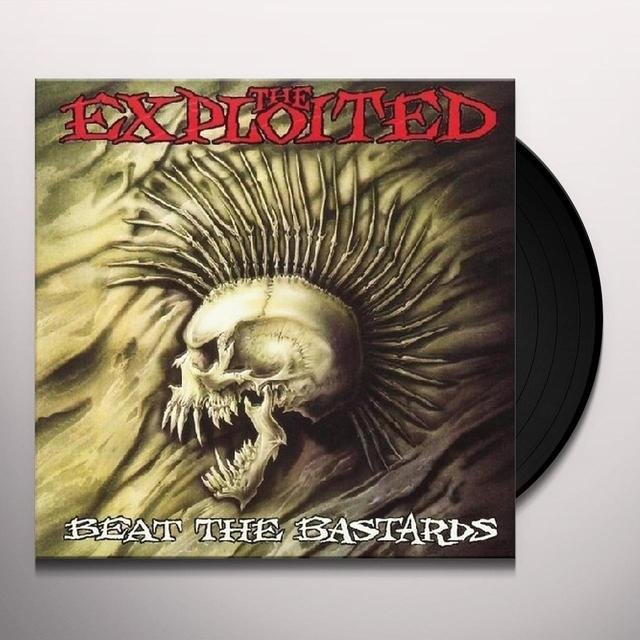 The Exploited BEAT THE BASTARDS Vinyl Record - UK Release
