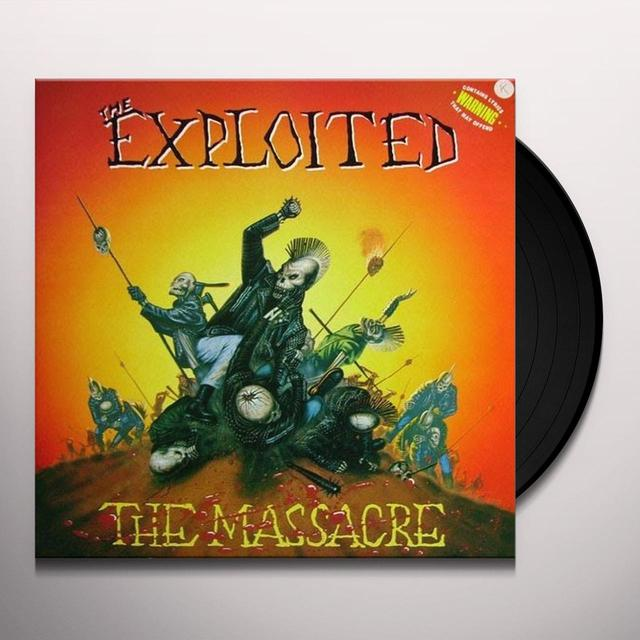 The Exploited MASSACRE Vinyl Record - UK Import