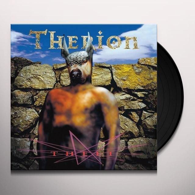 Therion THELI DELUXE EDITION Vinyl Record - UK Release