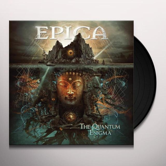 Epica QUANTUM ENIGMA Vinyl Record - Holland Release