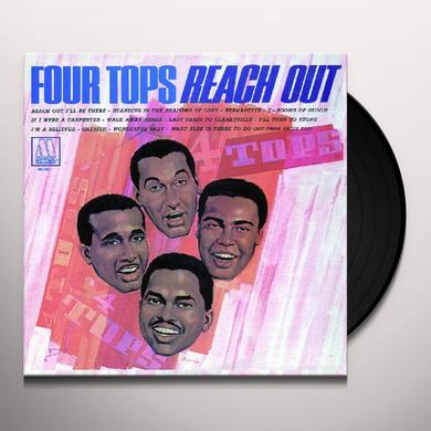Four Tops REACH OUT Vinyl Record - Holland Import
