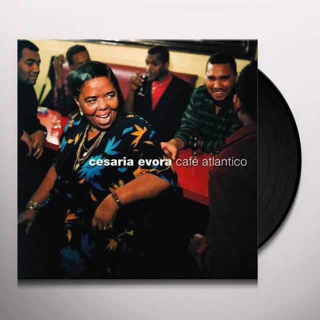 Cesaria Evora CAFE ATLANTICO Vinyl Record - Holland Import