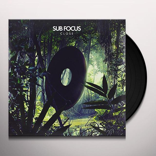 Sub Focus CLOSE Vinyl Record - UK Import