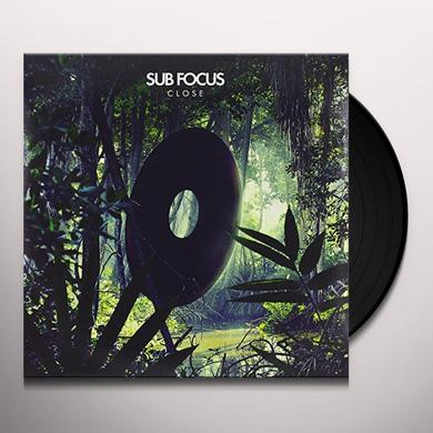 Sub Focus CLOSE Vinyl Record