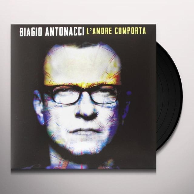 Antonacci Biagio L'AMORE COMPORTA Vinyl Record - Italy Import