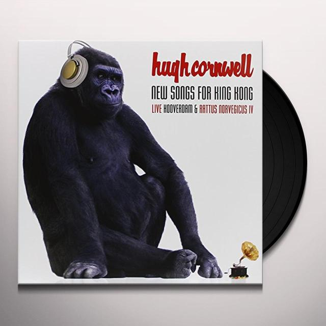 Hugh Cornwell NEW SONGS FOR KING KONG Vinyl Record - UK Import