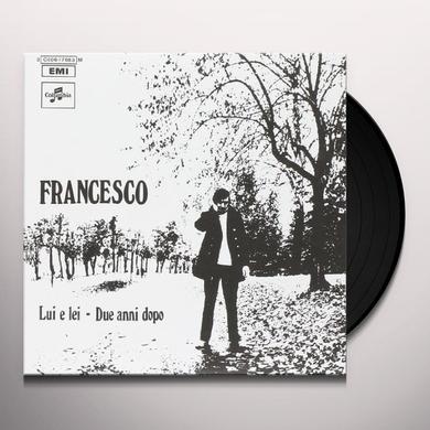 Francesco Guccini LUI E LEI/DUE ANNI DOPO Vinyl Record - Italy Import