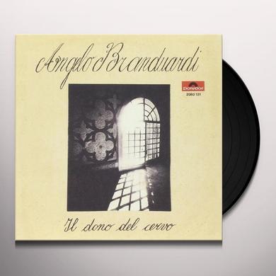 Angelo Branduardi IL DONO DEL CERVO/ALLA FIERA DELL'EST Vinyl Record - Italy Import
