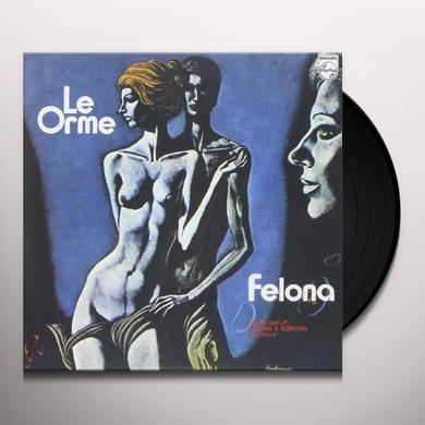 Orme FELONA/L'EQUILIBRIO Vinyl Record - Italy Import