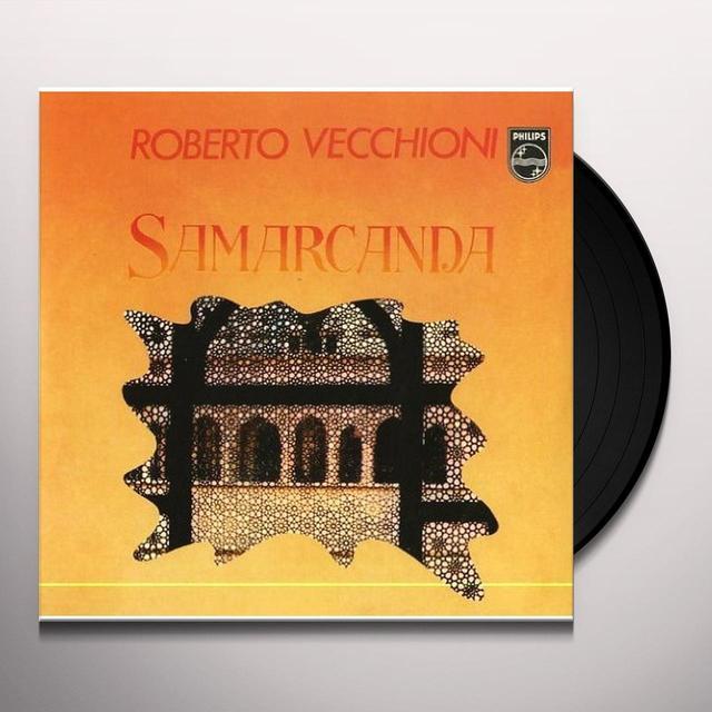 Roberto Vecchioni SAMARCANDA/CANZONE PER SERGIO Vinyl Record - Italy Import