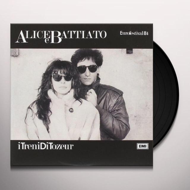 Franco Alice E Battiato I TRENI DI TOZEUR Vinyl Record - Italy Import