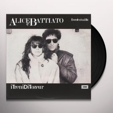 Franco Alice E Battiato I TRENI DI TOZEUR Vinyl Record