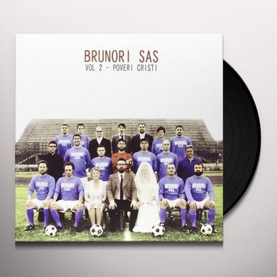 BRUNORI SAS POVERI CRISTI 2 Vinyl Record - Italy Import