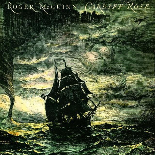 Roger Mcguinn CARDIFF ROSE Vinyl Record - Holland Import
