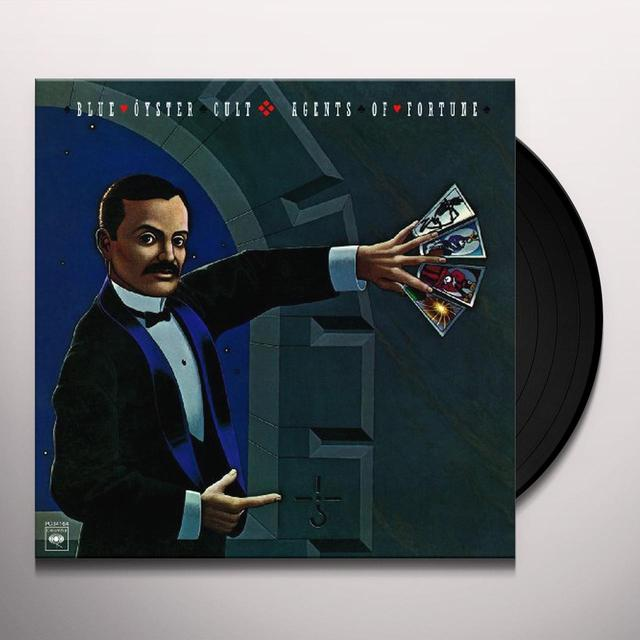 Blue Oyster Cult AGENTS OF FORTUNE Vinyl Record
