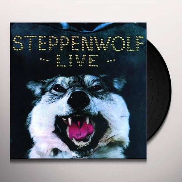Steppenwolf LIVE Vinyl Record - Holland Release