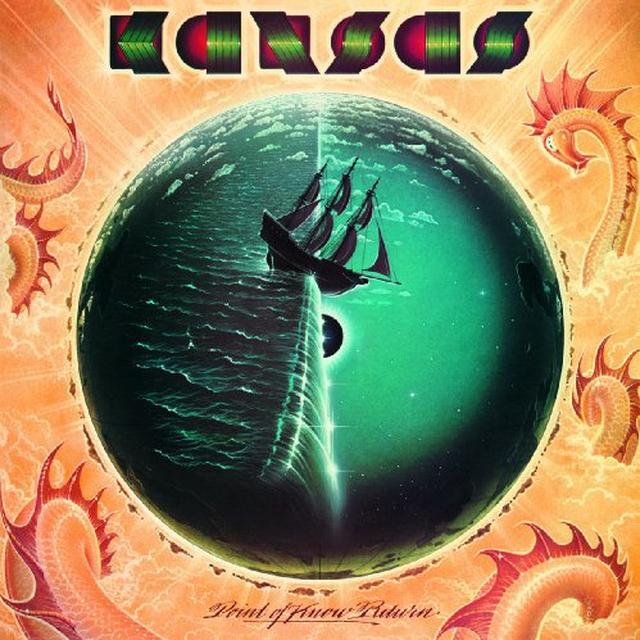 Kansas POINT OF KNOW RETURN Vinyl Record - Holland Import