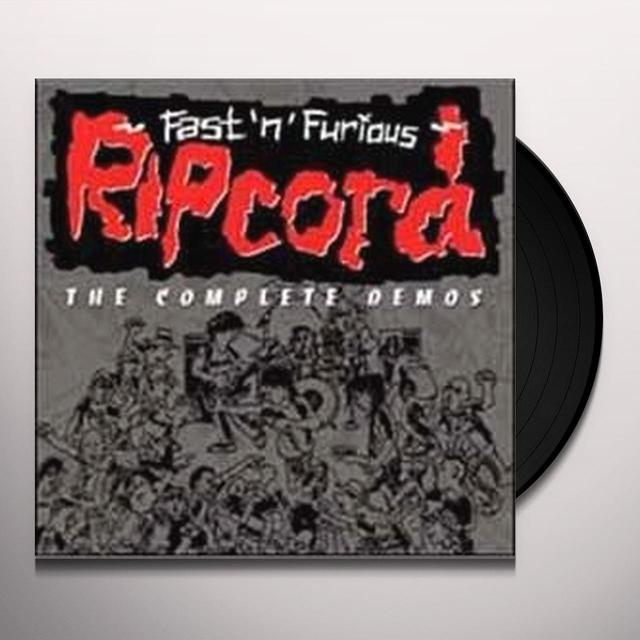 Ripcord FASTNFURIOUS THE COMPLETE DEMOS Vinyl Record - UK Import