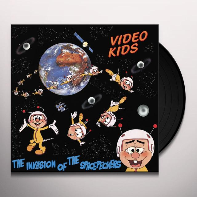 Video Kids INVASION OF THE SPACEPECKERS (30TH ANNIVERSARY EDI Vinyl Record