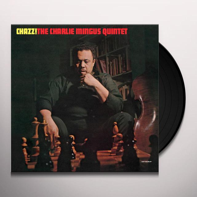 Charlie Mingus Quintet CHAZZ Vinyl Record