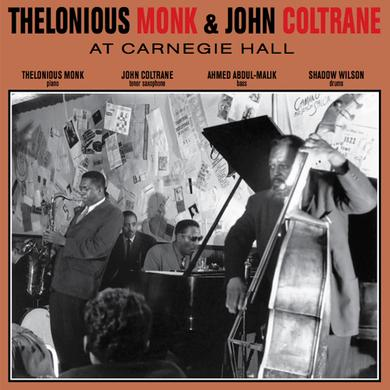 Thelonious Monk & John Coltrane AT CARNEGIE HALL Vinyl Record
