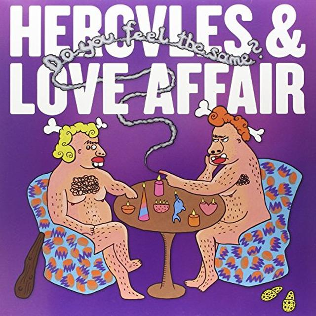 Hercules & Love Affair DO YOU FEEL THE SAME? Vinyl Record - UK Import