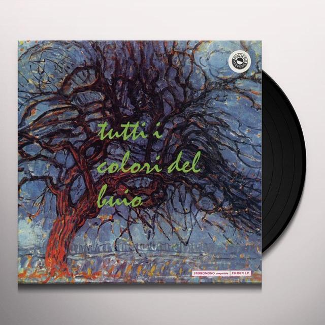 Bruno Nicolai ALL THE COLOURS OF THE DARK Vinyl Record - UK Import