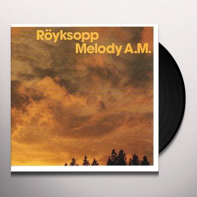 Royksopp MELODY A.M. Vinyl Record - UK Release